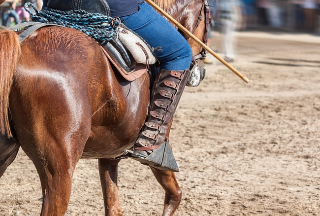 bottes de cavalier espagnol